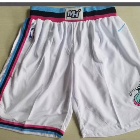 🚹Nike Miami Heat City  Vice  Shorts 7e4376df8
